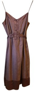 To the Max short dress Mauve Buttons Pink Summer on Tradesy