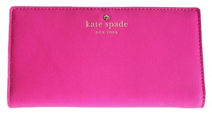 Kate Spade Stacy Turquoise Wallet Pink Clutch