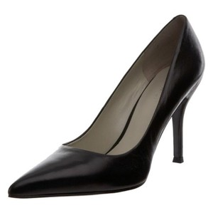 Nine West Leather Dress Genuine Leather Leather Black Pumps