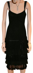 Karen Millen Lace Crochet Ruffles Bolero Dress