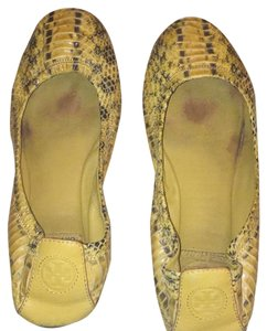 Tory Burch Yellow/mustard Flats