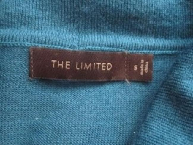 The Limited Cowl Neck Short Sleeve Top Teal