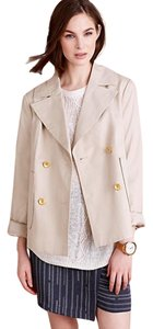 Anthropologie Free People Burberry Pea Pea Coat