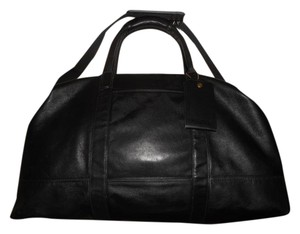Coach Leather Vintage Black Travel Bag