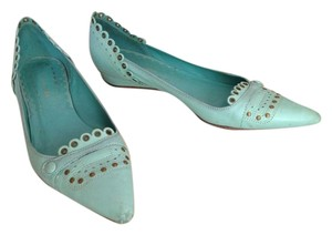 BCBGMAXAZRIA teal mint blue green Flats