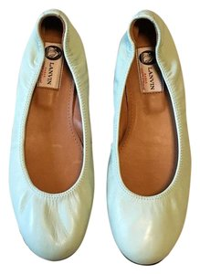 Lanvin Ballet Leather Mint Flats