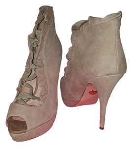 Betsey Johnson Taupe Boots