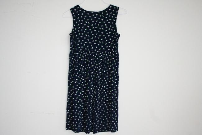 Maternite Maternite navy blue floral dress, sz.Small, mint condition