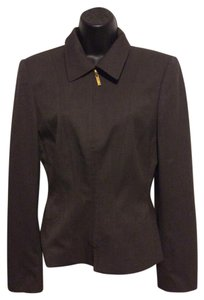 Escada Vintage Chocolate Brown Blazer