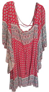Free People short dress Red/Multi on Tradesy
