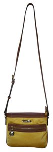 Michael Kors Leather Nylon Cross Body Bag