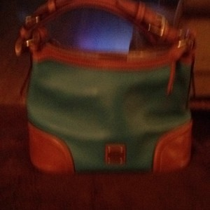 Dooney & Bourke Satchel in Vibrant Blue