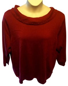 CJ Banks Stretchy Pullover Casual Sweater