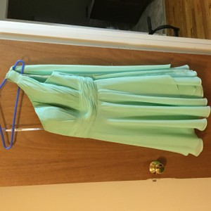 Mint Mint Colored Bridesmaid's Dress Dress