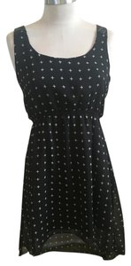 Other short dress Black with white on Tradesy