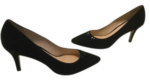 Cole Haan Lining Black suede leather with black crystals new Pumps