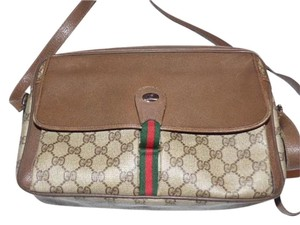 Gucci Great To Mix & Match Excellent Vintage Accessory Col Lots Pockets Cross Body Bag