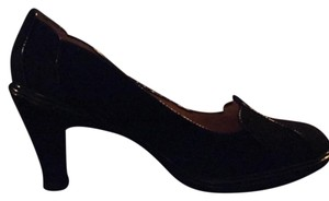 Söfft Black suede Pumps