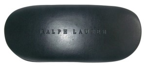 Ralph Lauren Ralph Lauren black Leather Clamshell Sunglasses Case