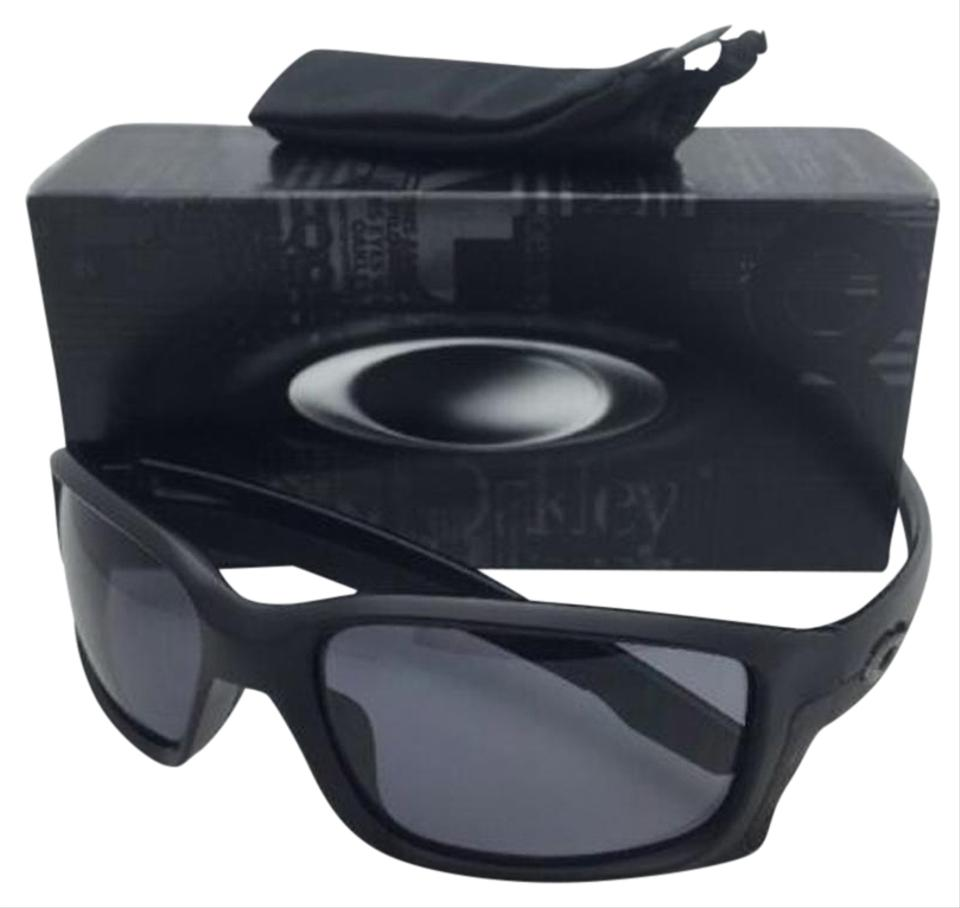 Oakley Straightlink Oo9331-02 Matte Black Frames W/ Grey Lenses New ...