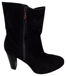 UGG Australia Athena Suede Ankle Black Boots