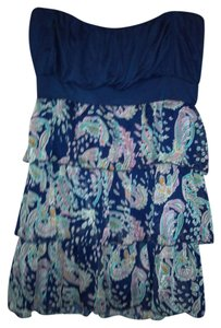 Rue 21 short dress Blue on Tradesy