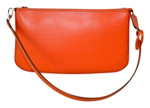 Louis Vuitton Wristlet in Orange