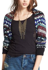 Free People Shrugs Shrug Fair Isle Sweater