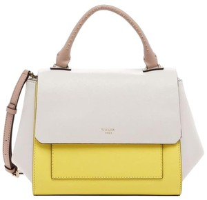 Guess Satchel in Citron Yellow
