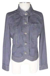 NIC+ZOE dark blue Womens Jean Jacket