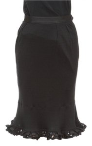 Yves Saint Laurent Skirt Black