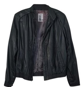 Summit Leather Obey Gucci Givenchy Stussy Grey Leather Jacket