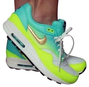 Nike Blue/Neon Yellow Athletic