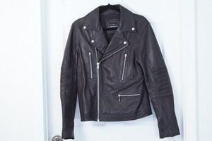 Topman Leather Gucci Prada Jcrew Motorcycle Jacket