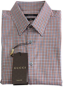 Gucci Shirt Mens Shirt Button Down Shirt multicolor