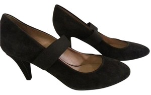 DKNY Mary Jane Suede Size 7.5 Black Pumps