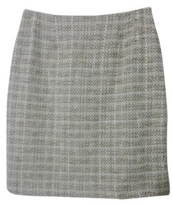 Anne Klein Lined Skirt Cream