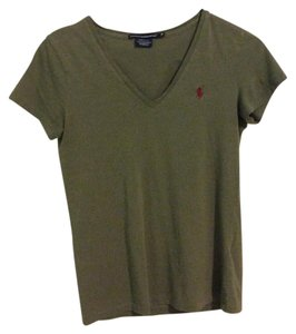 Ralph Lauren T Shirt Olive Green