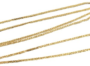 Other 18K Yellow Gold Foxtail Chain 18 Inches