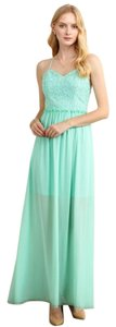 Sage Blue Maxi Dress by Aquarius Brand