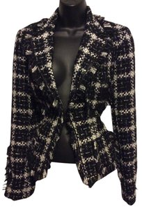 Angel Nina Vontage Black & White Blazer