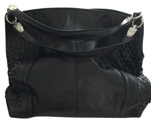 Elliott Lucca Tote in Black Leather