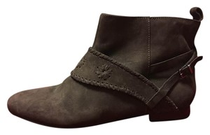 Jack Rogers Casual Fall Leather Dark Brown Boots