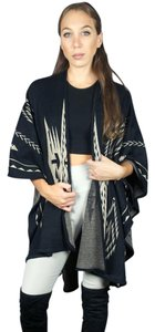 Leto Tribal Tribal Sweater Tribal Wrap Sweater Cape