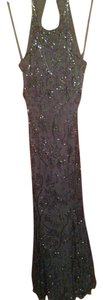 Cache Silk Beaded Dress