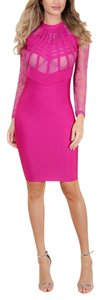 Wow Couture Bodycon Longsleeve Dress