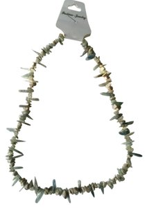 Green Agate Chips Natural Stone Necklace