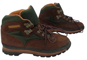 Timberland Brown Green Boots