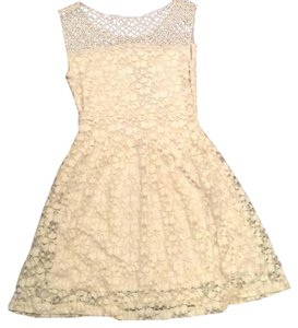 Vintage Havana short dress Cream on Tradesy