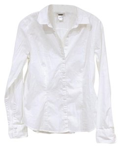 H&M Button Down Shirt White